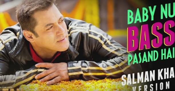 Baby Nu Bass Pasand Hai Lyrics & HD Video – SALMAN KHAN