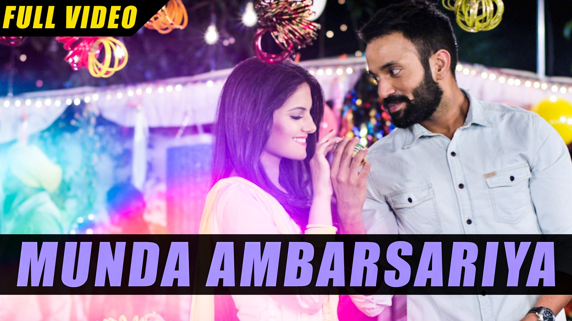 Munda Ambarsariya Lyrics & HD Video – Happy Raikoti