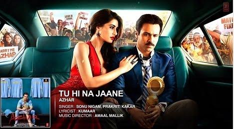 Tu Hi Na Jaane Lyrics & HD Video – Sonu Nigam, Prakriti Kakar