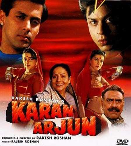 Mujhko Rana Ji Maaf Karna Lyrics – Karan Arjun