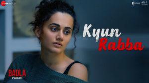 KYUN RABBA LYRICS – Badla   Amitabh Bachchan