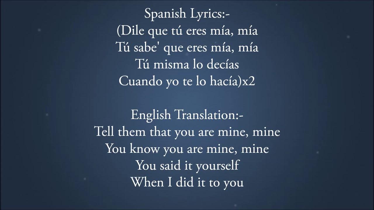 Bad Bunny Feat Drake Mia Lyrics Video English Translation Lyrics Mb All the song lyrics posted here are for educational purpose only. lyrics mb