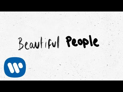 Ed Sheeran – Beautiful People (feat. Khalid) [Official Lyric Video]