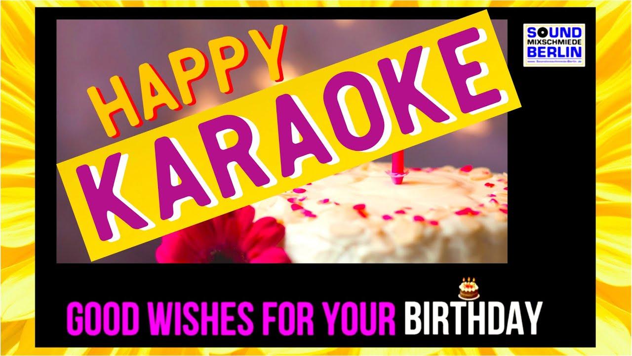 "Good Wishes For Your Birthday Lyrics VIDEO KARAOKE Bday 🎵 Version ❤️new ""Happy Birthday"" Song 2019"