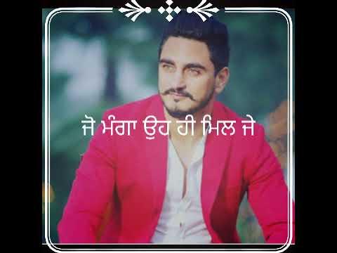 Meharbaan – Kulwinder billa  New Punjabi song WhatsApp status lyrics video   black background status