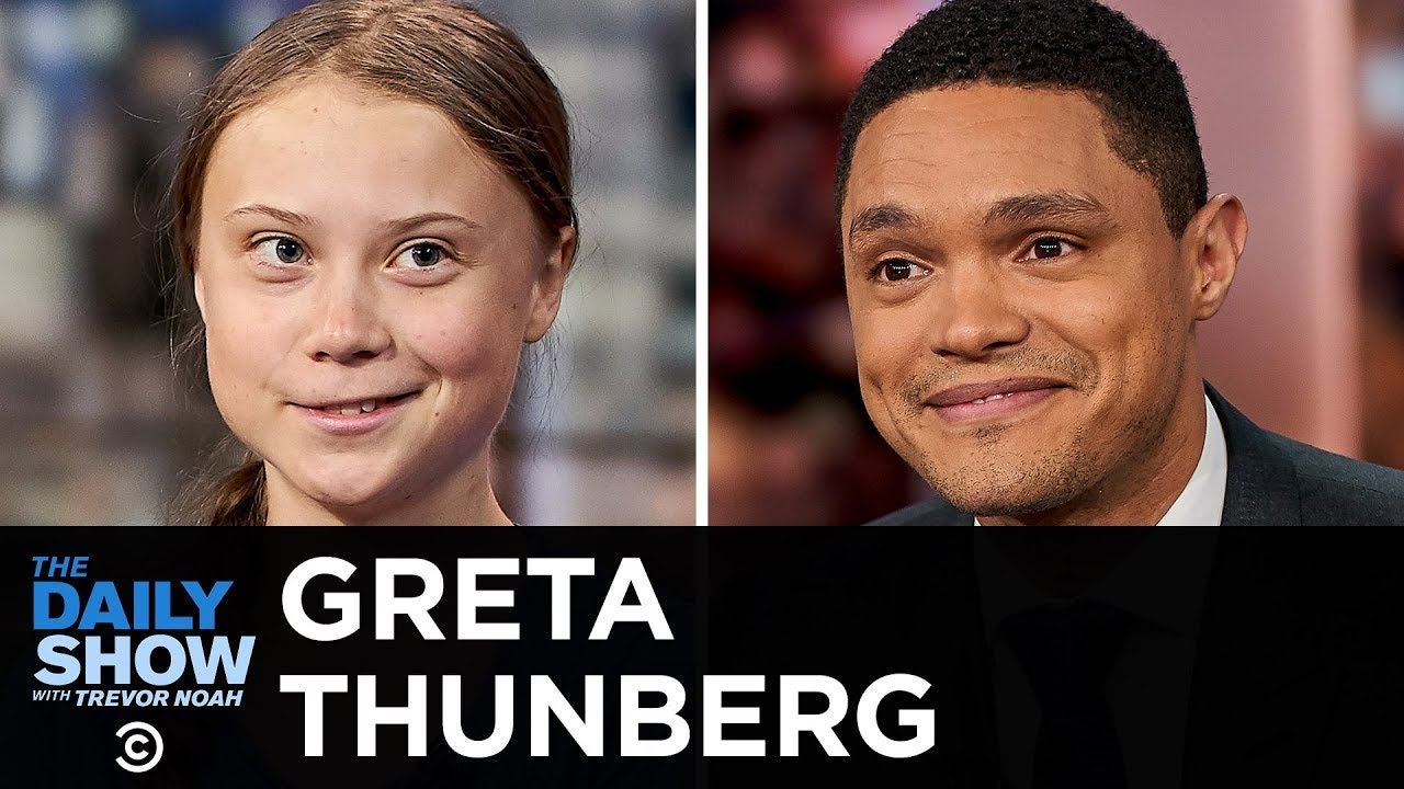 Greta Thunberg – Inspiring Others to Take a Stand Against Climate Change   The Daily Show