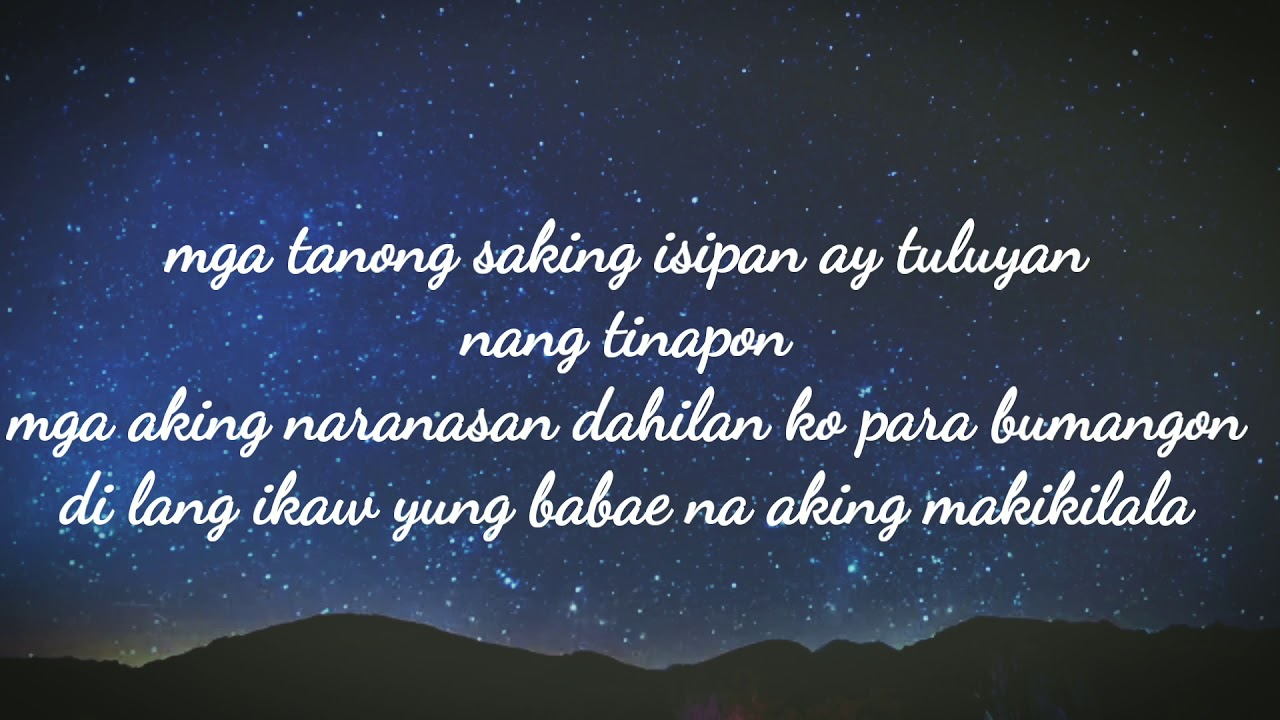 Rhyme N' Harmonies – Di na kita kailangan (Lyrics Video)