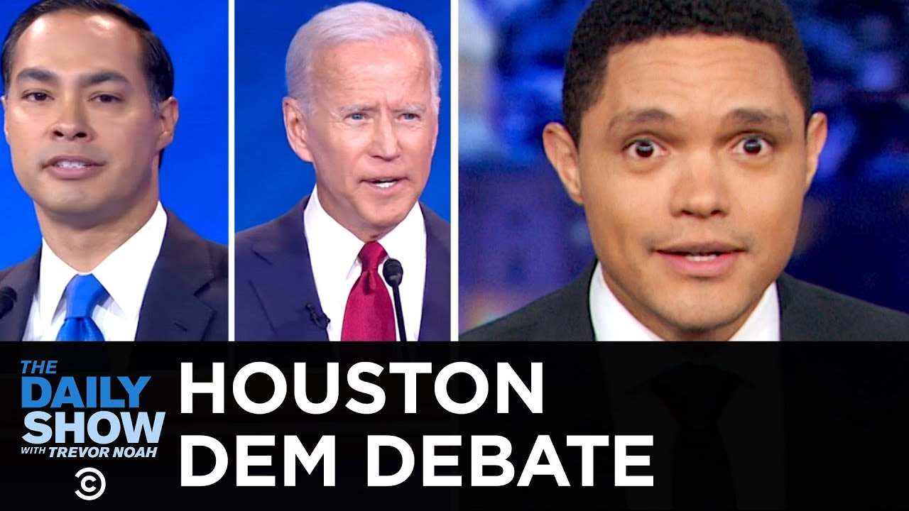 2020 Democratic Debate in Houston   The Daily Show