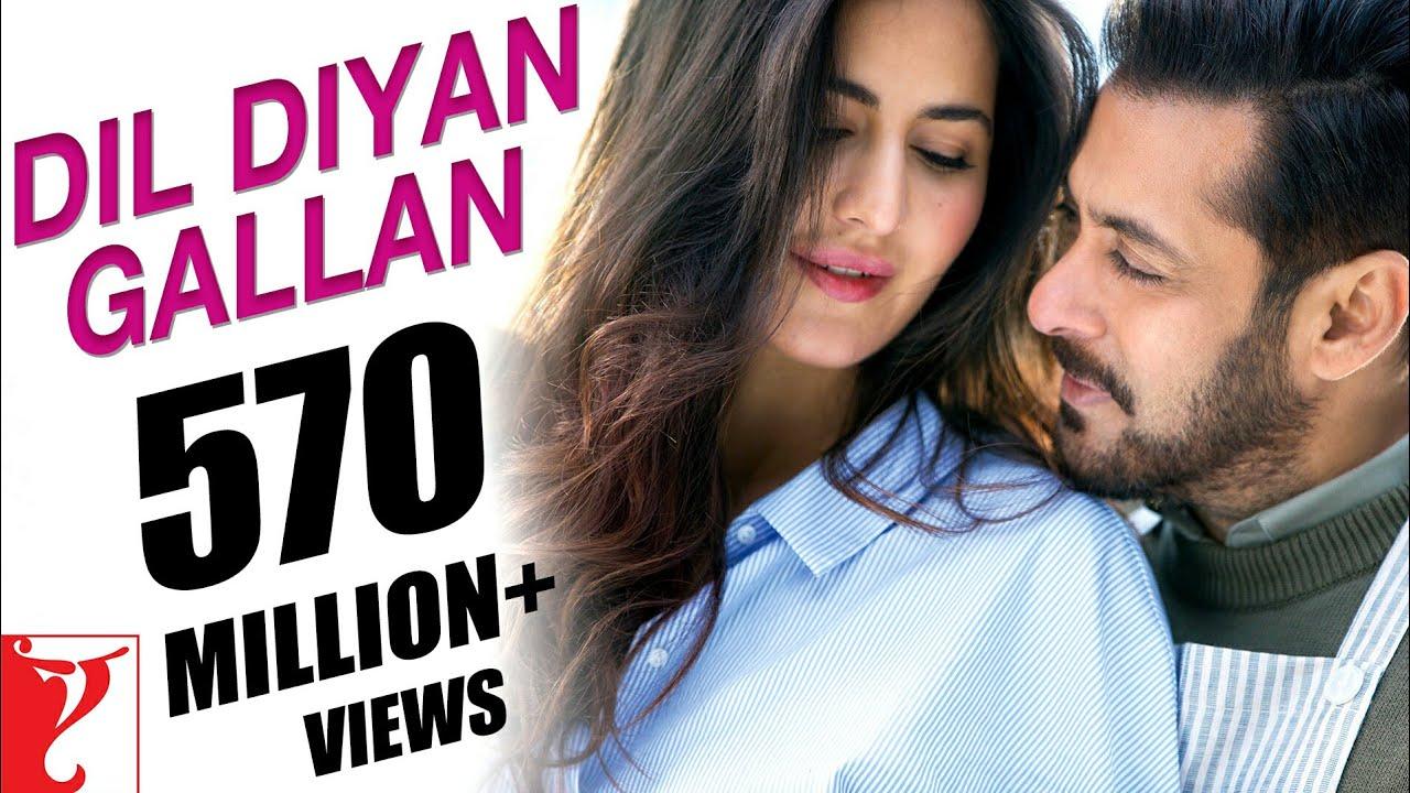 Dil Diyan Gallan Song | Tiger Zinda Hai | Salman Khan, Katrina Kaif | Atif, Vishal & Shekhar, Irshad