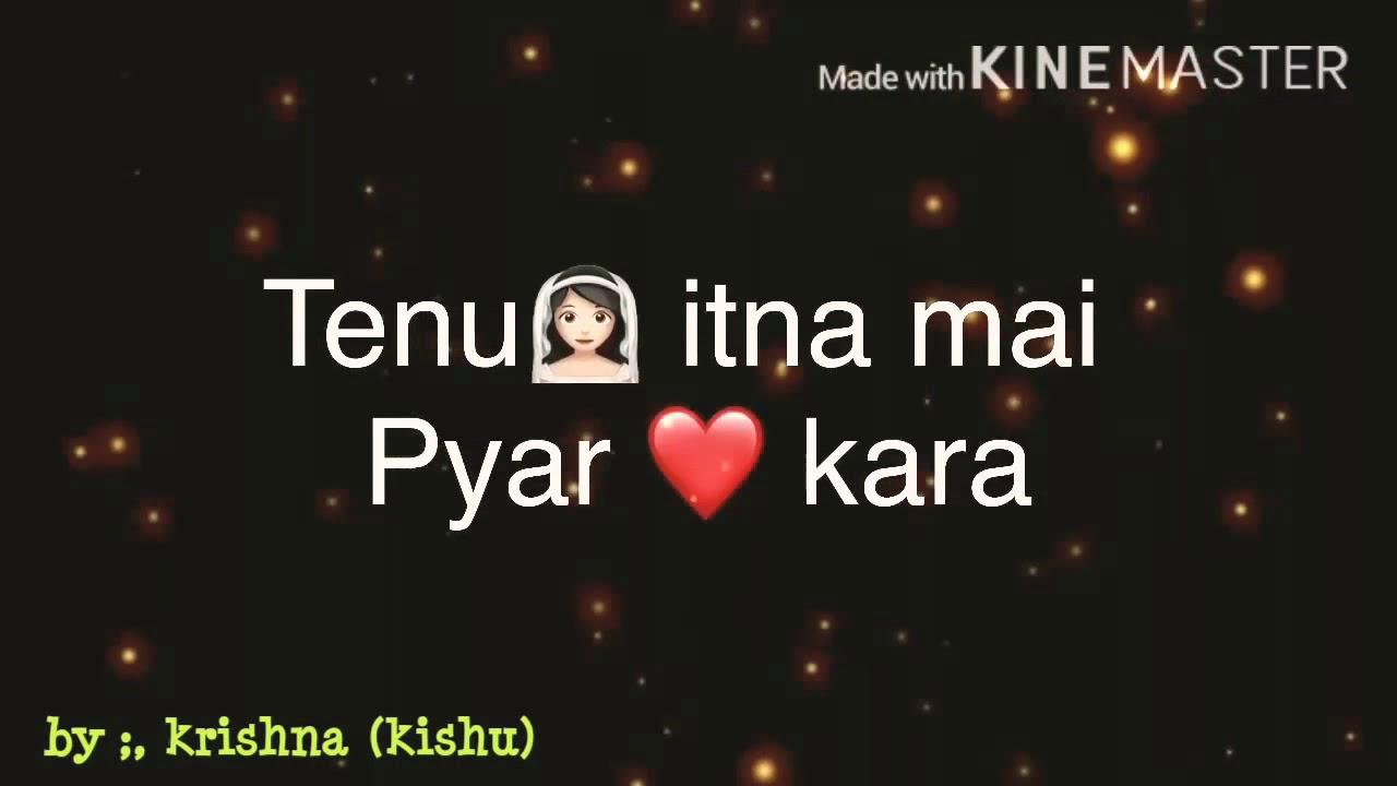 WhatsApp status lyrics video song #, cover by me