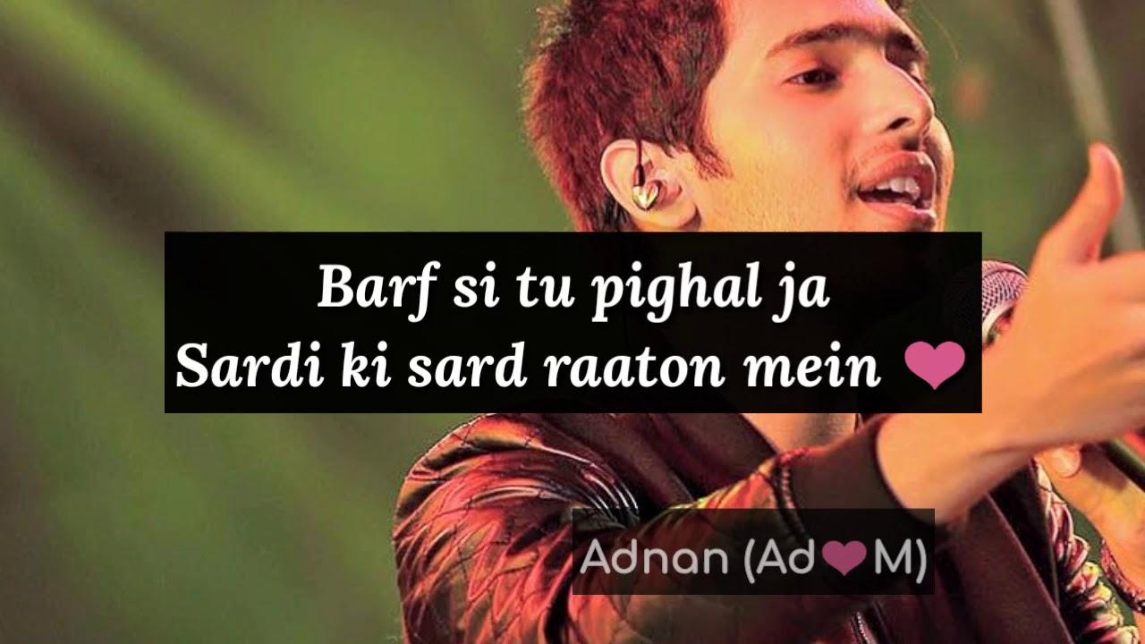 Barf Si  – Armaan Malik latest Song ( lyrics Video)