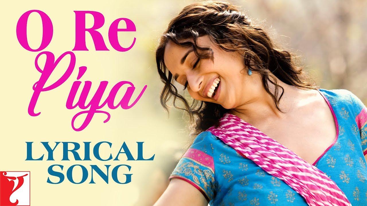 Lyrical: O Re Piya Song with Lyrics | Aaja Nachle | Madhuri Dixit Nene | Jaideep Sahni