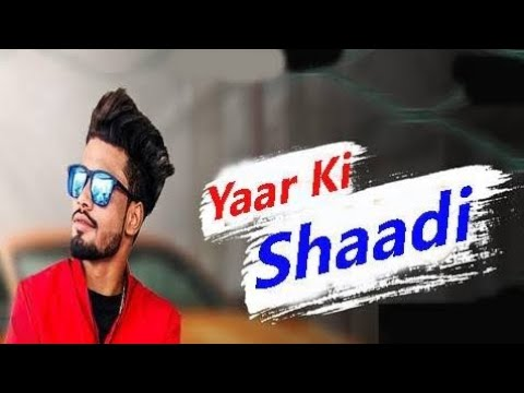 Aaj mere yaar ki Shadi  /Status and lyrics  video song – #millionrecordskandrour/lateststatus