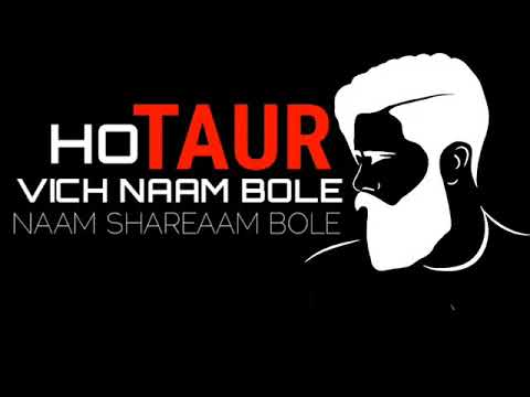 New Punjabi song WhatsApp status lyrics video | black screen | Punjabi black background status