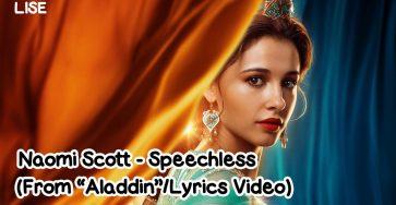speechless naomi scott lyrics