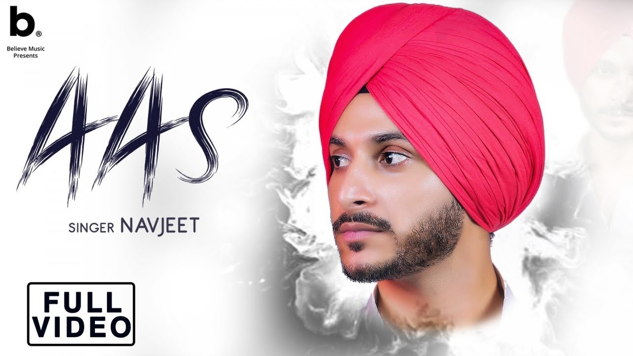 Aas (Official Video) Navjeet | New Punjabi Sad Song 2019 | HD Lyrics Video