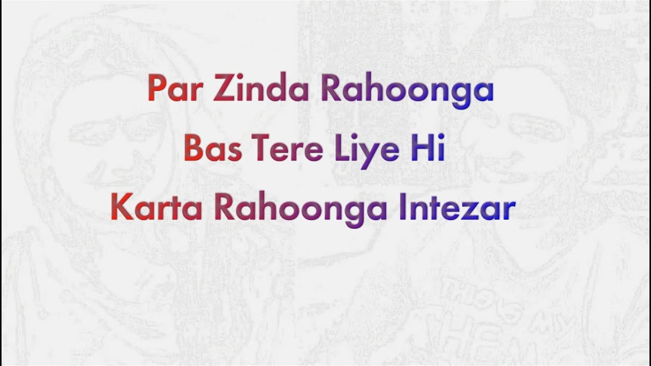 Tanha Mera Pyaar (Reuploaded)  Lyrics Video Song   Bypass Road   Mohit Chauhan