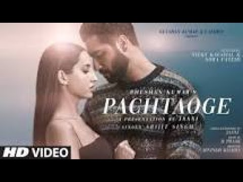 Pachtaoge Song – Arijit Singh | Lyrics Video Song | Vicky K, Nora F | Jaani | B Praak | Arvind Busn
