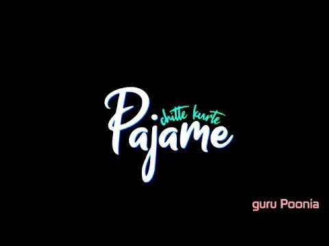 Top Punjabi Song Whatsapp Status Lyrics Video Black Background in New Style