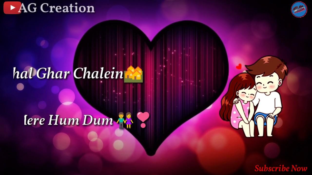 Chal ghar chale | Latest whatsapp status | Sad status | lyrics video | hindi whatsapp status