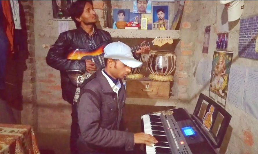 maiya he suniyo hamar bipatiya   lyrics video   Maithili karaoke song