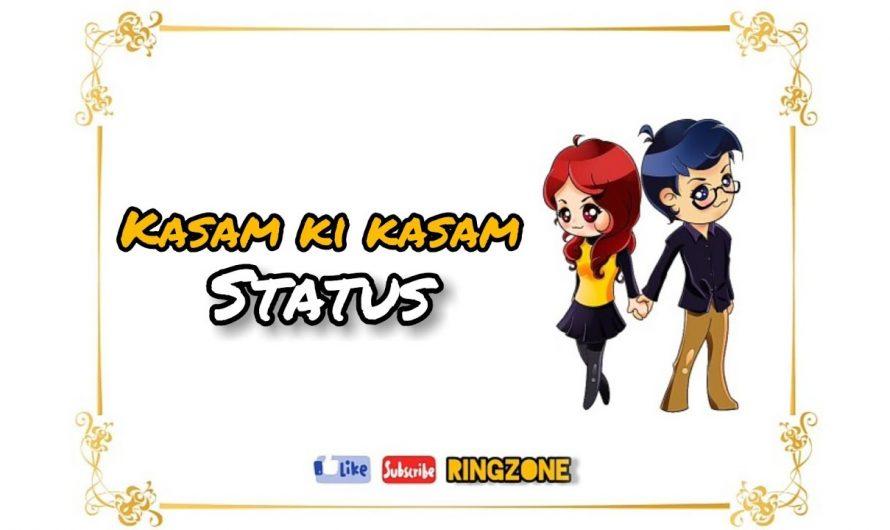 Kasam Ki Kasam Song Status || Latest Song lyrics Video