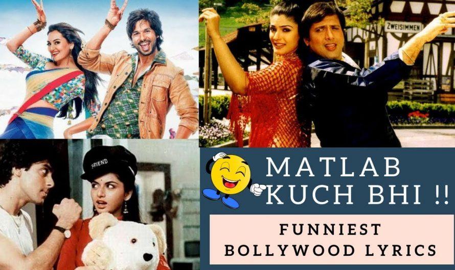 FUNNIEST BOLLYWOOD SONGS LYRICS | Bollywood Romantic-Comedy Songs | Hindi Love Songs – Video Jukebox