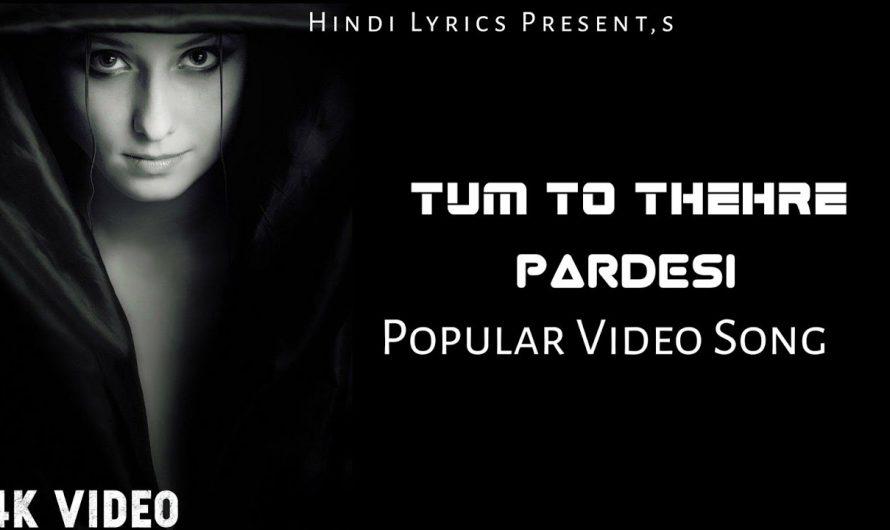 Pardesi Anthem | Lyrics Video Song 2020 | Viral Video Song | Hindi Songs