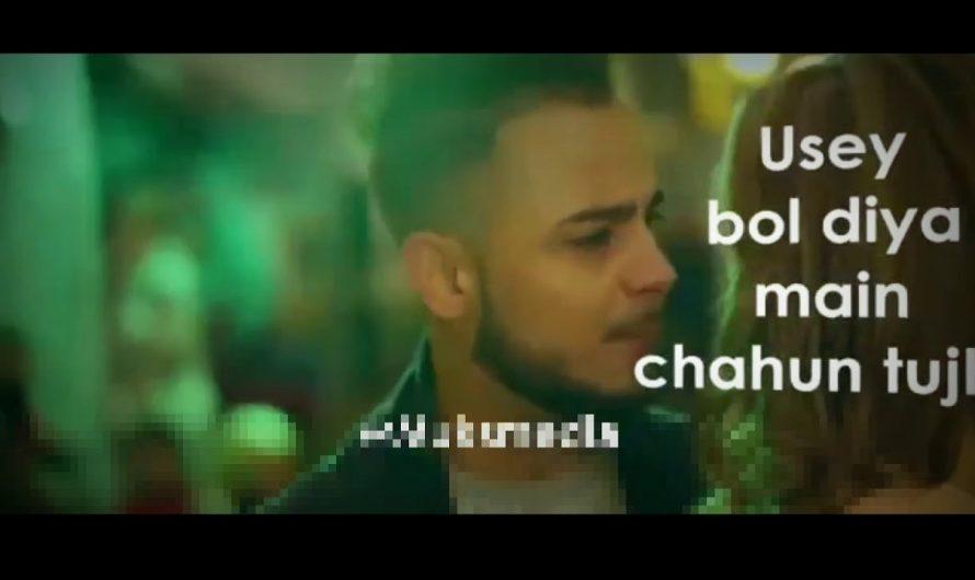 Nazar Lag Jayegi By Millind Gaba WhatsApp Status Lyrics video re-edit by Hamza Techy.