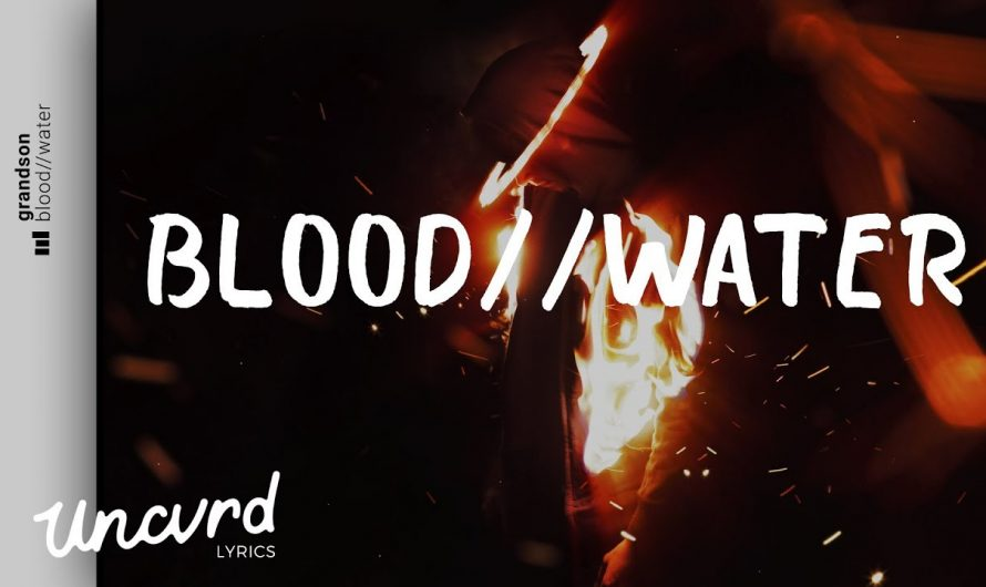grandson – Blood // Water (Lyrics / Lyric Video)