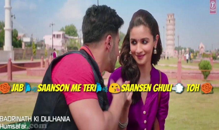 Best Hindi love WhatsApp status video song with lyrics || be intehaan (atif  aslam) new 2017