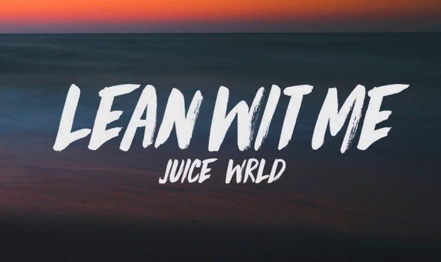 Juice WRLD – Lean Wit Me (Lyrics)