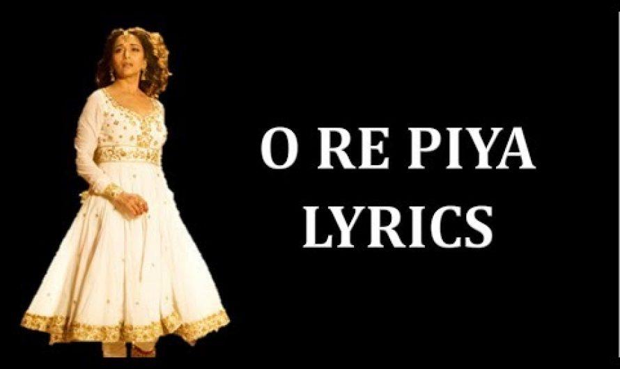O Re Piya –  Aaja Nachle Lyrics [HINDI | ROM| ENG] |  Rahat Fateh Ali Khan