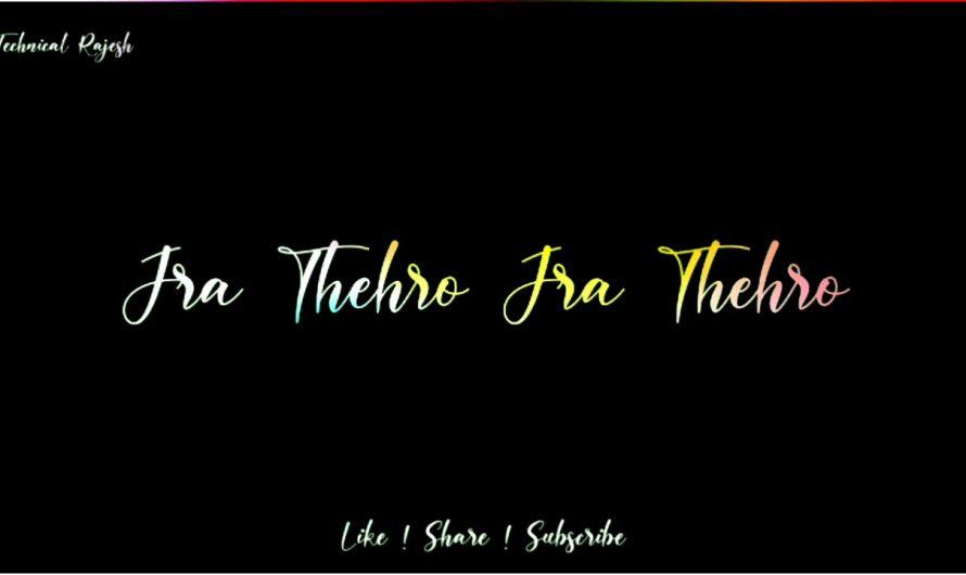 Ye Jaate Huye Lmho  Lyrics Status Video | border movie song  Lyrics Status