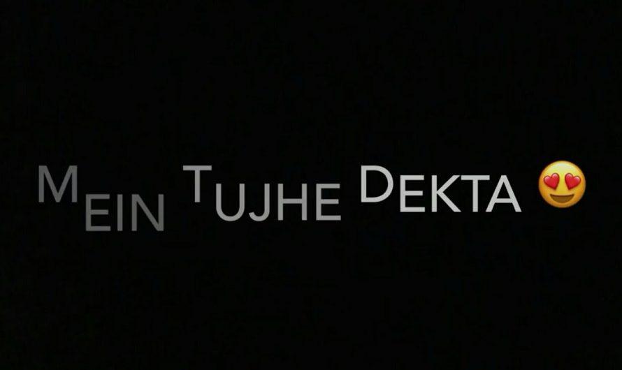iMovie Black Screen Hindi Songs Mushup Lyrics Status Video #ApNdp