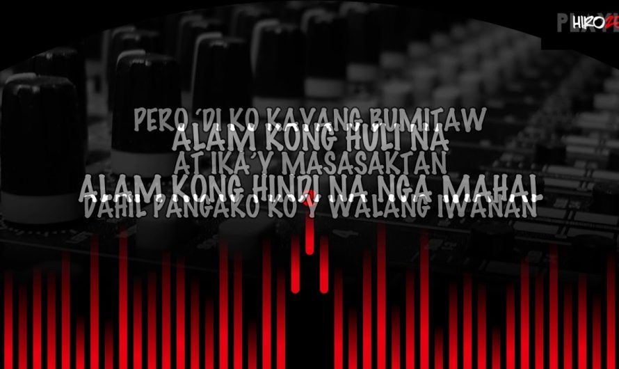 THIS BAND – HINDI NA NGA (LYRICS VIDEO)
