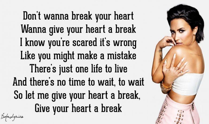 Demi Lovato – Give Your Heart a Break (Lyrics) 🎵