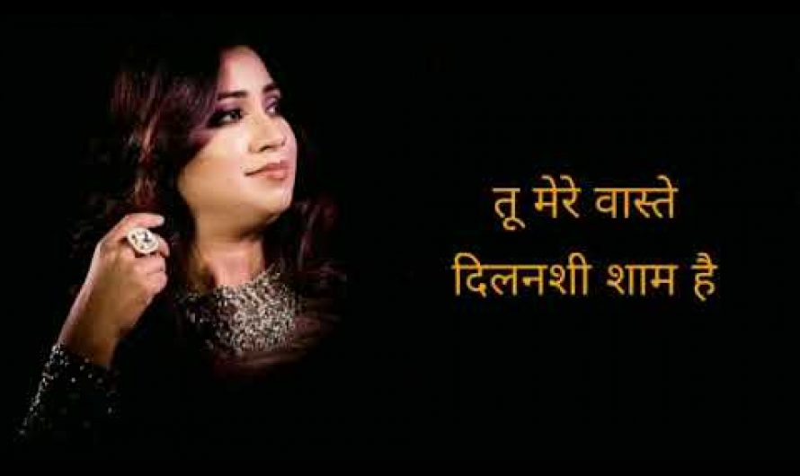 Aye Meri Zindagi   ए मेरी जिंदगी   Saaya   Shreya Ghoshal   Hindi Lyrics Video   AVS