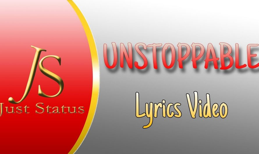 Unstoppable (Lyrics Video) Dinno James | Latest Motivational Song 2020 | Unstoppable Lyrics