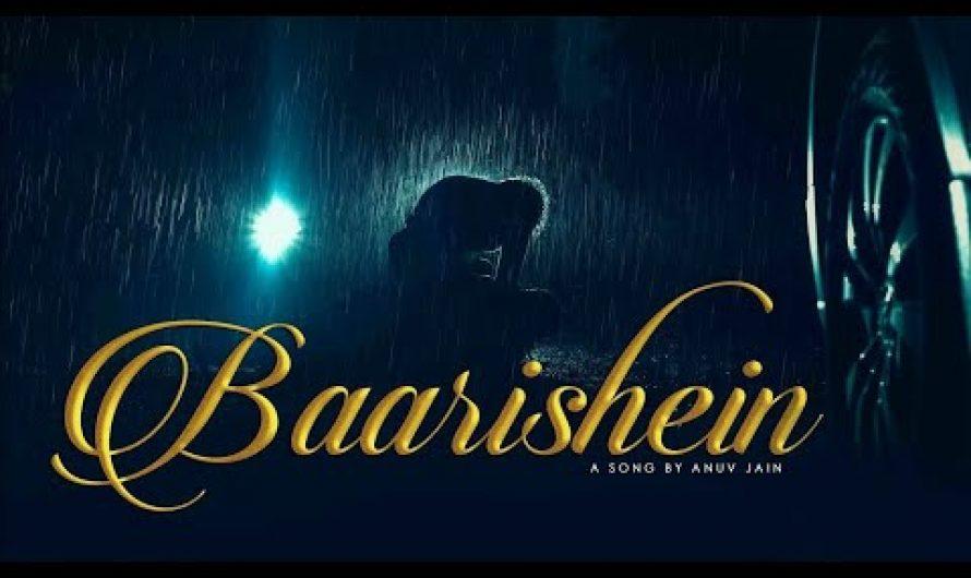 BAARISHEIN LYRICS | Anuv Jain | Best Hindi Song |  sad songs | HEARTBREAK SONGS LYRICS