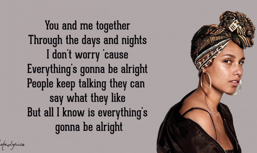 No One – Alicia Keys (Lyrics)