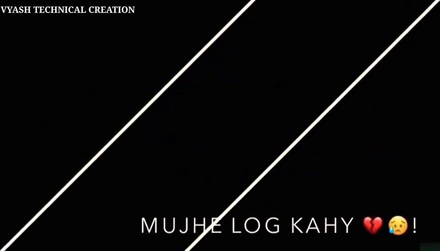 Black Screen Lyrics In Hindi Song Black Screen Hindi Lyrics Background Video Imovie Screen Video Lyrics Mb