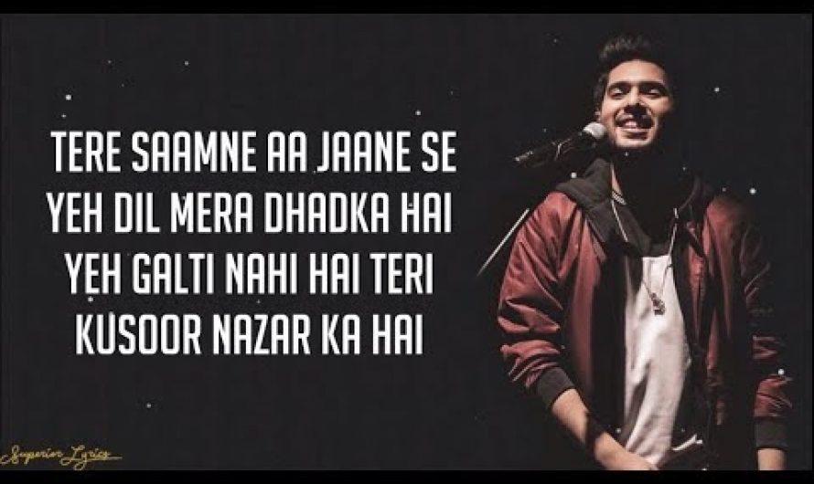 Dil Mein Chhupa Loonga – Wajah Tum Ho (Lyrics) | Armaan Malik & Tulsi Kumar | Meet Bros