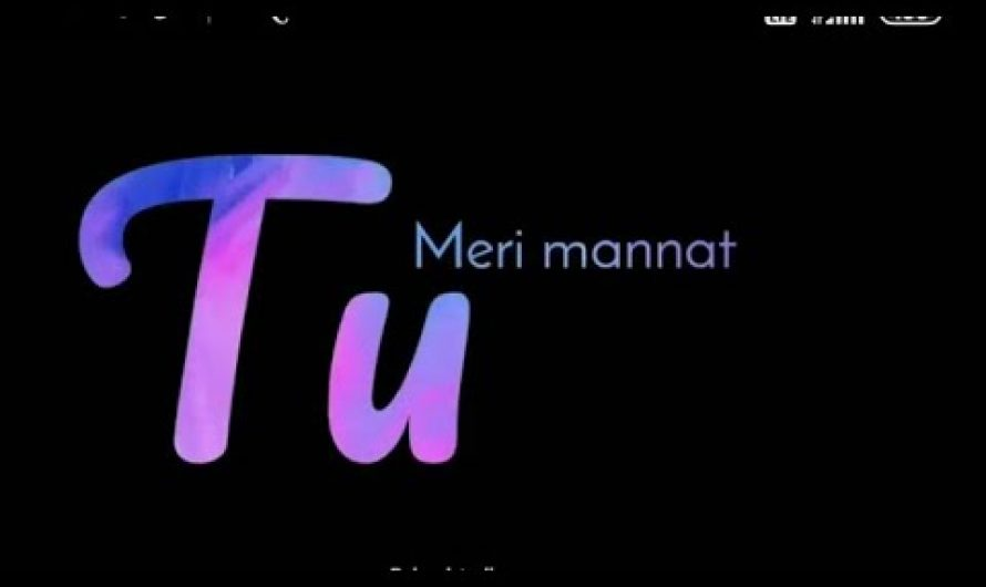 Meri Mannat TU Status /whatsapp status/lyrics video