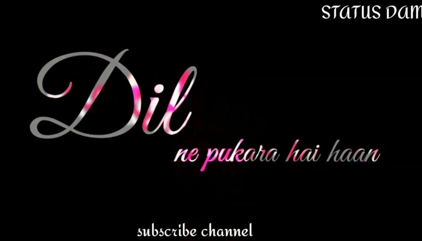 New Hindi Sad Love Song Whatsapp Status Colour Lyrics Status Hindi Black Background Status Hindi Lyrics Mb Alia bhatt prada song, coca cola tu, unbelievable songs & more. lyrics mb