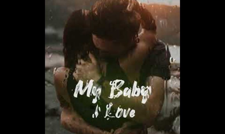 My baby I love your voice  lyrics video | mokka editor