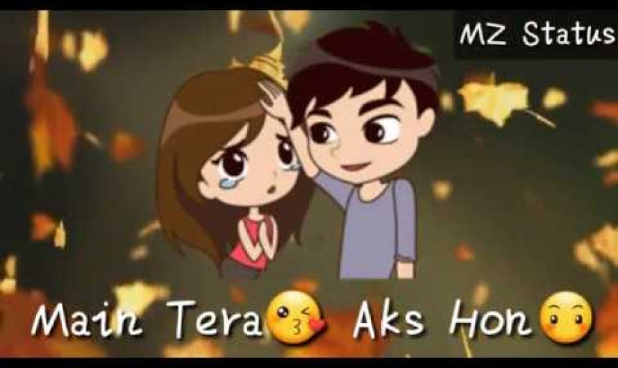 Main Tera Aks Hon | Heart Touching lyrics • WHATSAPP FACEBOOK STATUS VIDEO