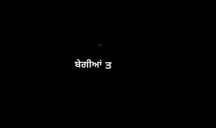 Parche, New Punjabi 2020 Whatsapp Status Lyrics Video Song, Black Background Song