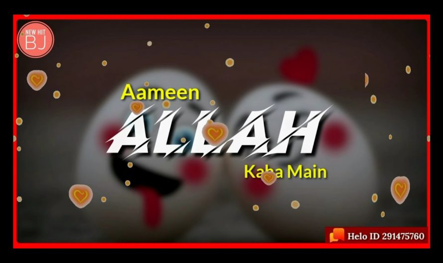 "Aameen Whatsapp Status Video ""Hindi Lyrics"