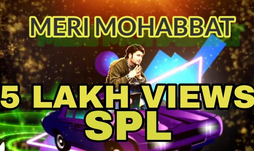 Meri Mohabbat feat Coolgeet latest romantic song ( lyrics video song 2020 )